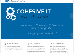 Cohesive IT Solutions website screenshot